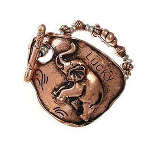 3/$20 Lucky Elephant Bracelet